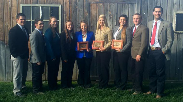 Fresno State Livestock Team Places Ninth At National Finale