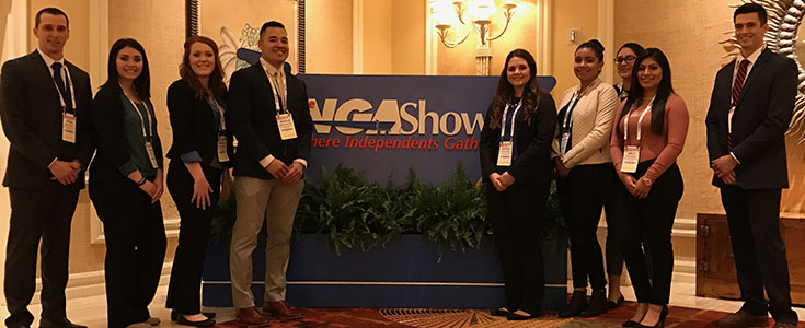 Ag business students at Las Vegas case study competition
