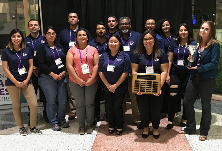 Fresno State Plant Science Club - President's Trophy winners