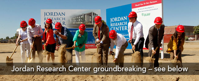 jordan research center groundbreaking