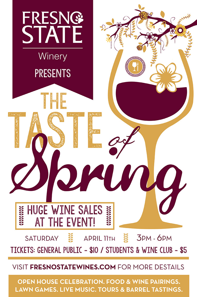 Taste of Spring event flyer